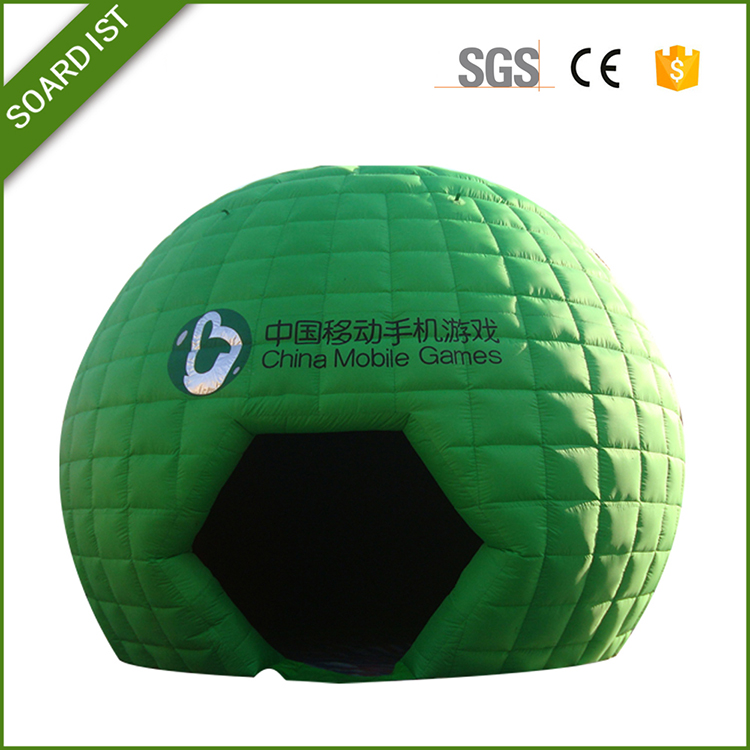 indoors / outdoors cheap Advertising / inflatable bubble tent