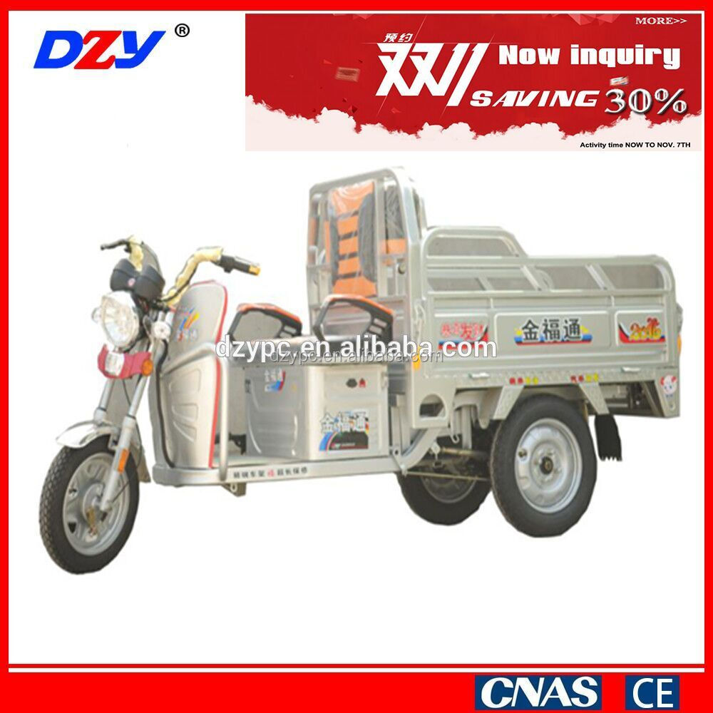 DZY 60V 800W cargo electric tricycle