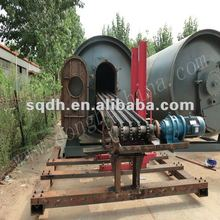 full automatic WJ-9 waste tyre/rubber recycling pyrolysis machine with CE/ISO
