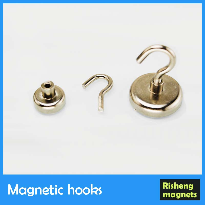 Hook magnet neodymium magnetic assembly medical magnet
