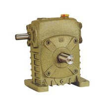 WP series vertical shaft worm gearbox for belt drive