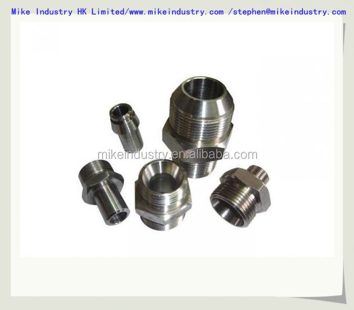 precision cnc machining 5/4/3 AXIS 7075 Aluminum/304 stainless Steel/Brass parts