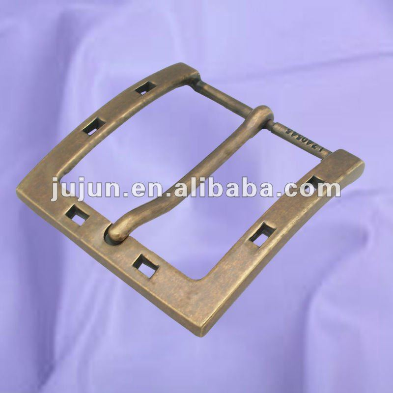 old style metal buckle for belts