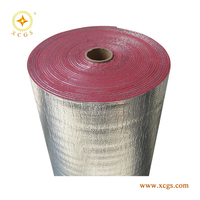 Reflective Aluminum Foil Backed XPE Foam Foil Insulation/ Foam Thermal Foil Blanket
