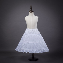 P1701T Hot sale Bridal Dress White Petticoat for Children in Wedding Party