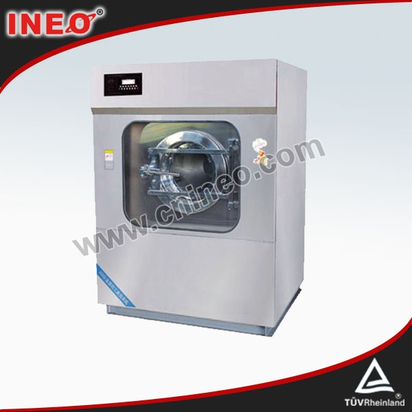 Commercial Big capacity hotel laundry equipment/hotel linen washing machine