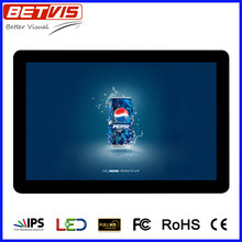 good performance 10 inch digital signage LCD display for supermarket promotion