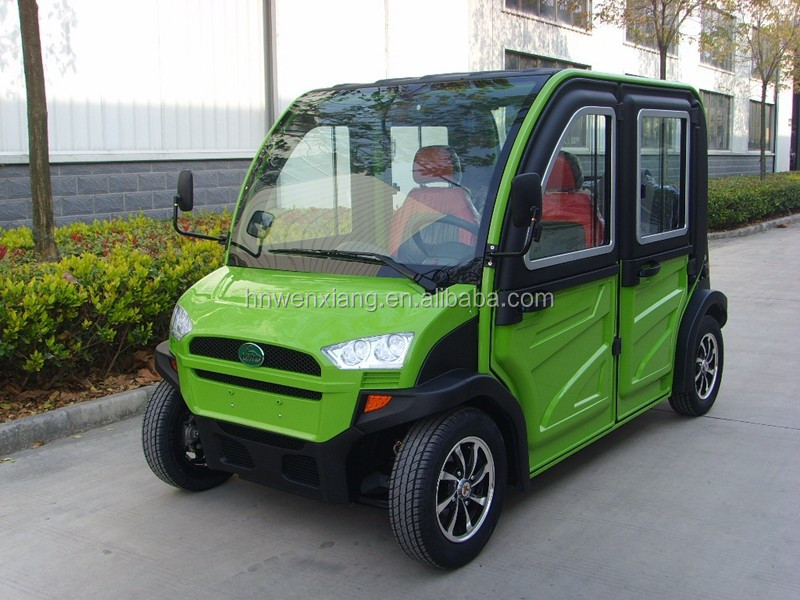 4 Wheels 4 Seats Chinese Smart Electric Car with CE