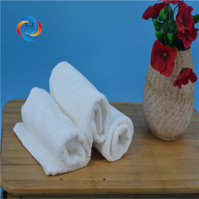 Biodegrad Industrial Promotion Cheap Wholesale White Thin Customised 100% Cotton Small Hand Towel