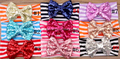 Cheap spandex headbands with bows baby hair accessory