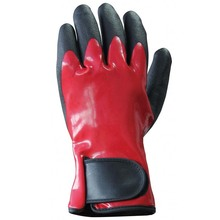 Soft oil chemical proof gloves Anti slip cold weather glove
