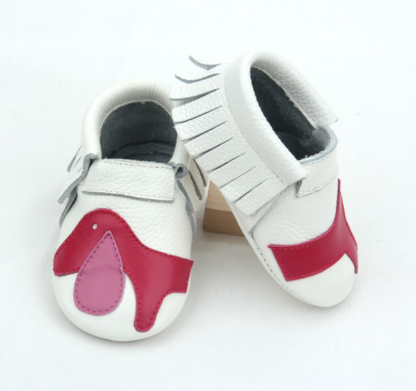 Cheap Soft Baby Shoes White Fashion Baby Shoes Leather
