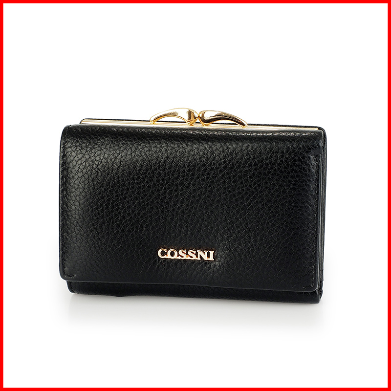 OEM wholesale cheap women short wallet/card bag genuine leather purse with low MOQ
