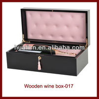 Good quality MDF Wooden wine accessory packing box