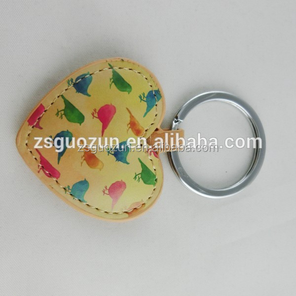 make your own logo apple shaped metal key chain/keychian