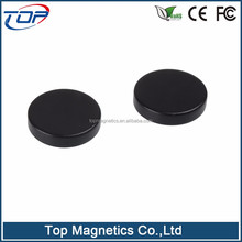 Pot pot shape hard ferrite magnetic ferrite magnet and composite
