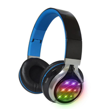 LED Light Sound Intone Wireless Bluetooth Headphone Earphone for Sports/Mobile/Laptop