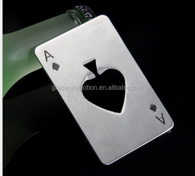 Customized Metal Credit Card Sized Bottle Opener FOR factory direct suppliers