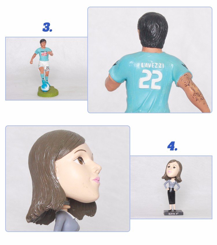 New Fashion Custom Size Wholesale Bobbleheads