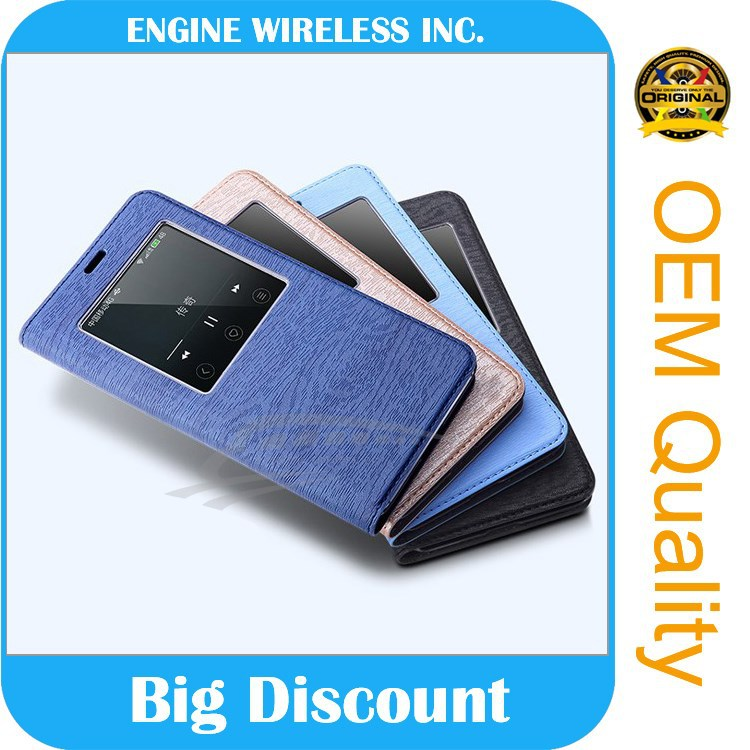 factory wholesale leather case for lenovo p780