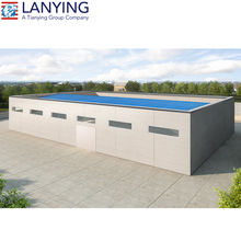 Corrugated steel wall and roof prefabricated steel structure factory&plant