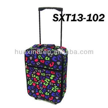SXT13-102 Promotional Shopping Foldable Trolley Luggage