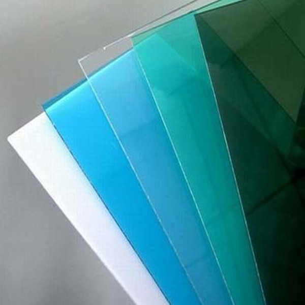Tinted transparent polycarbonate plastic roofing sheet for polycarbonate gazebo