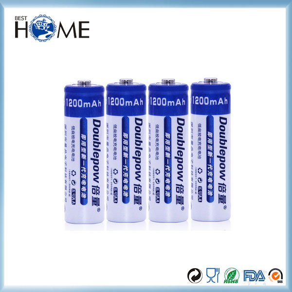 1.2V 4 AA Battery Rechargeable Batteries Battery For Electronics