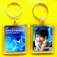 top acrylic engraved photo keychain