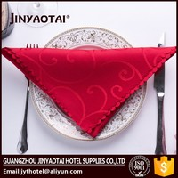 Wholesale 45*45cm restaurant kitchen cotton napkin table napkin folding design