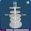 TSD-W002 Custom round floor retail store wood display shelf,retail shop fixtures,toy store fixture