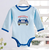 Boutique baby boys long sleeve onesie
