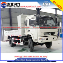 Dongfeng All Wheel Drive off road Dump Truck 8Tons -10Tons Mini Tipper Trucks 4x4 Truck for Sales