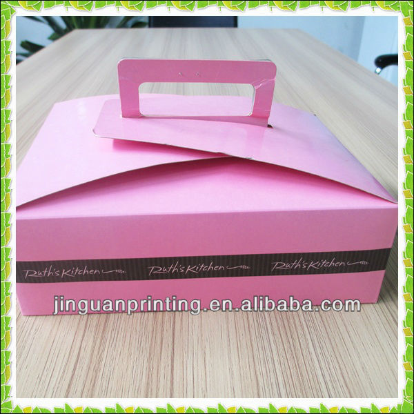 Hot sale paper cup cake donut packaging box