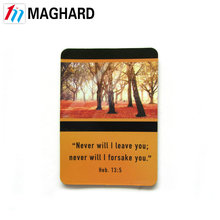 Factory Direct Sales All Kinds of beautiful landscape paper fridge magnet
