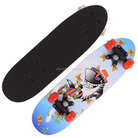 2106SB-1UT5036A chinese maple wooden four wheel kid graphic mini micro scooter skateboard