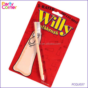 Novelty Penis Willy Toothbrush Sexy Fun Gift Hen Stag Xmas Wedding Secret Santa