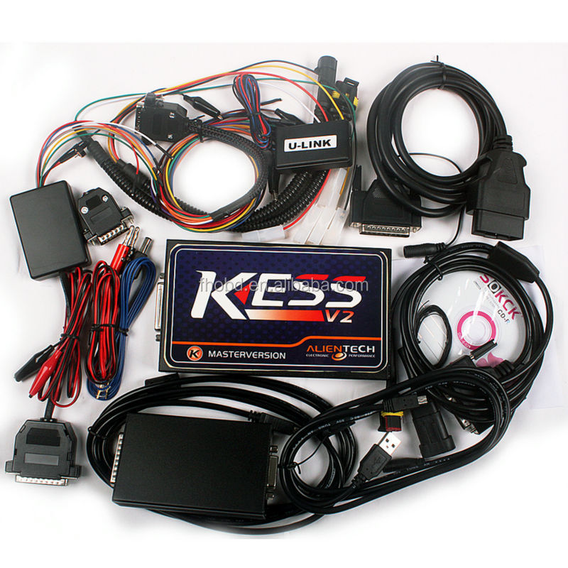 DHL Free Shipping Newest V2.13 KESS V2 OBD2 Manager Tuning Kit Master ECU Chip Tuning Remapping