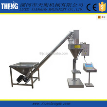 2017 Semi-automatic grain powder adlay seed powder auger filler machine packing machine for sale