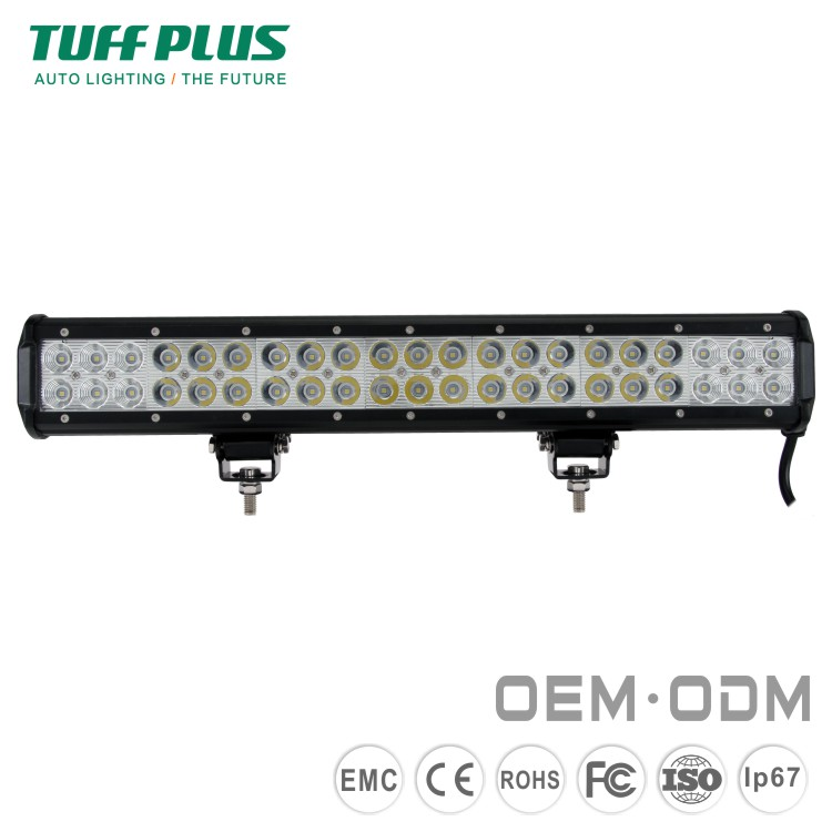 Wholesale Aluminum 126w 20Inch LED Jeep Wrangler Light Bar