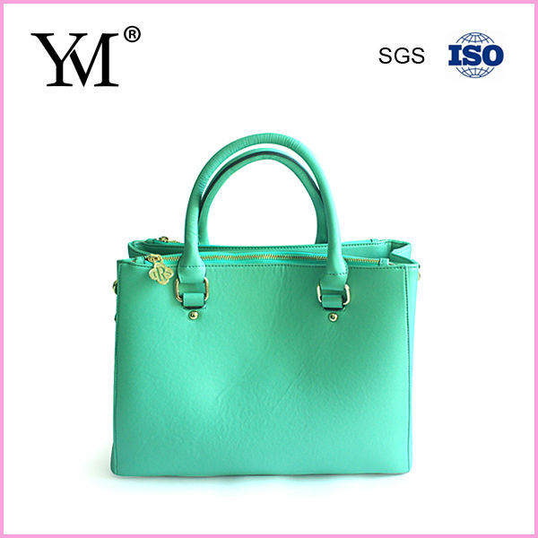 2014 hot sale custom ladies leather handbag