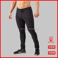 Wholesale Custom Track Pants Men Skinny Leg Jogger Sweatpants With Tapered Bottoms Guangzhou Clothing Factory