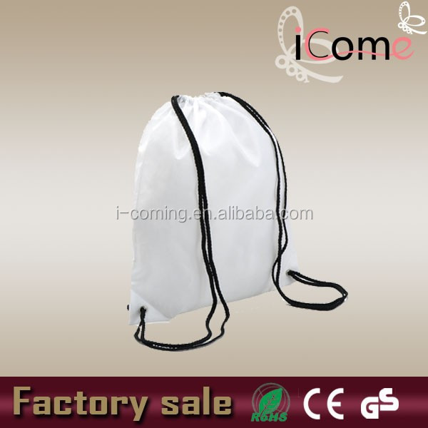 Cheap shoe bag,recycled polyester shoe bags,promo drawstring shoe bag(ITEM NO:D150246)