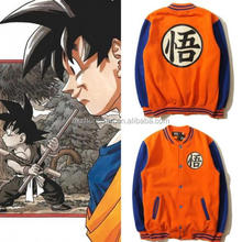 Ecoparty Anime Dragon Ball Son Goku Jacket Baseball Uniform Coat Cosplay Unisex Costume