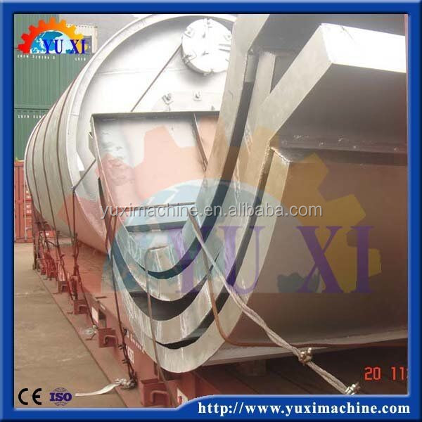 Alibaba trade assurance Scrap tyre/tire refining plant