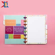 Loose Leaf A5 Disc Ring Binding Work Agendas Plan Planners