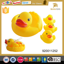 Top sale yellow bath rubber duck toy