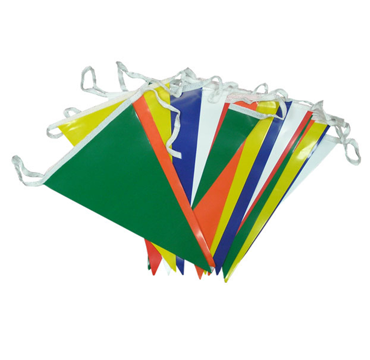 Customeized Decorative Outdoor Pvc String Bunting Flag Banner
