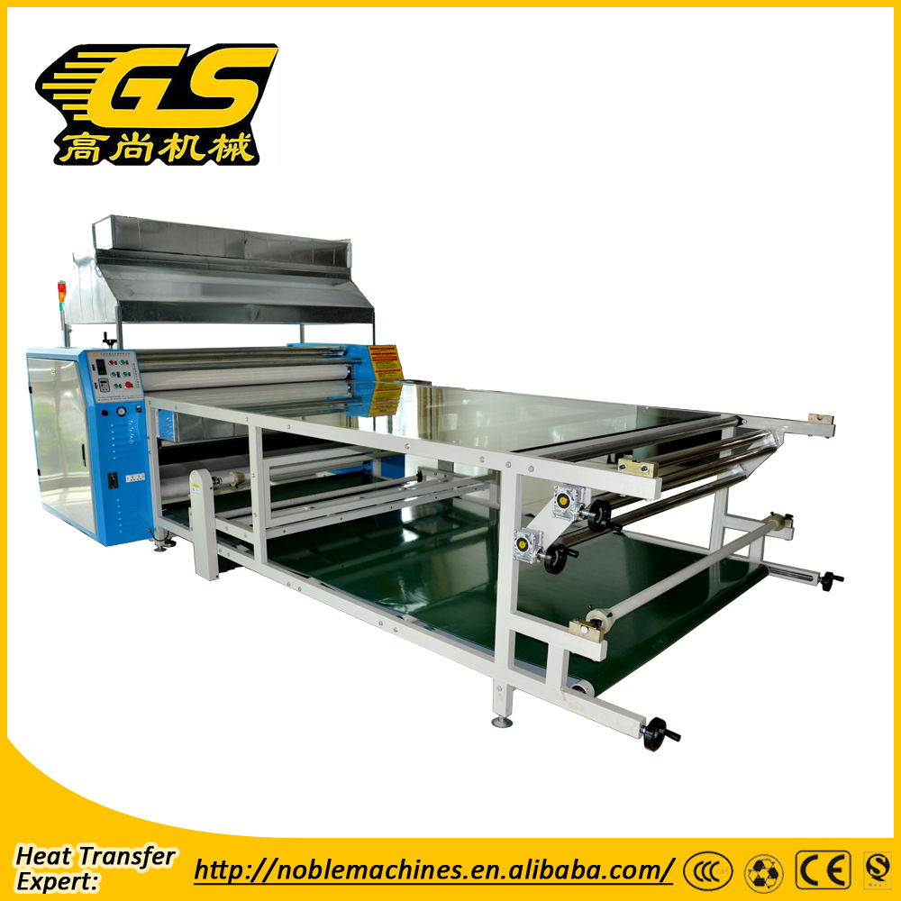 Roller type sublimation transfer machine fusing press machine digital textile printing machine