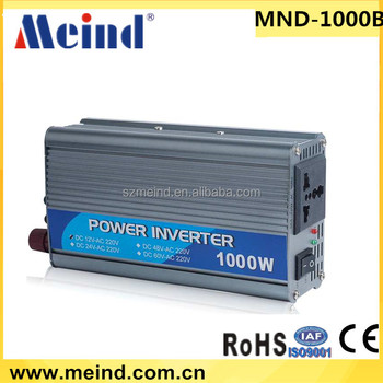 2016 New 1000w inverter modified sine wave off grid inverter 12v to 220v off grid inverter